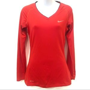 Nike Pro Long Sleeve Dri Fit Tee